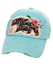 T13MOM22(MT)-wholesale-cap-mama-bear-baby-cub-outlined-leopard-floral-embroidery-baseball-vintage-torn-multicolor(0).jpg