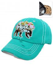 T13MOM23(TQ)-wholesale-cap-mama-bear-leopard-emboss-floral-embroidered-baseball-vintage-torn-cotton-multicolor(0).jpg
