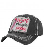 T13RIB03(BK)-wholesale-cap-pink-ribbon-hope-strength-courage-heart-embroidery-breast-cancer-baseball-vintage-torn(0).jpg