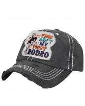 T13ROD03(BK)-wholesale-cap-first-rodeo-bronc-riding-cowboy-horse-embroidered-baseball-vintage-torn-cotton-multi(0).jpg