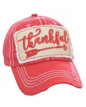 T13THK01(COR)-W09-wholesale-baseball-cap-thankful-arrow-cotton-vintage-torn-embroidered-stitch-hook-loop-closure(0).jpg