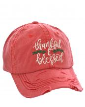 T13THK02(RD)-wholesale-cap-thankful-blessed-leaves-embroidered-stitch-vintage-torn-baseball-cotton-hook-loop(0).jpg