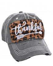 T13THK06(DGY)-wholesale-cap-thankful-arrow-leopard-emboss-embroidery-vintage-tone-baseball-cotton-brim-insdie(0).jpg