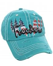 T13USA03(TQ)-wholesale-cap-freedom-american-flag-usa-star-stripe-feather-cotton-vintage-torn-embroidered-baseball(0).jpg
