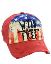 T13WIL04(RD)-wholesale-cap-wild-free-american-flag-usa-stars-stripes-embroidered-vintage-torn-baseball-cotton(0).jpg