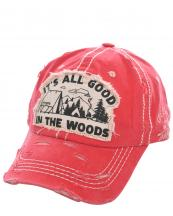 T13WOD01(COR)-wholesale-cap-baseball-all-good-woods-camping-site-tent-camp-fire-embroidered-vintage-torn-cotton(0).jpg