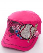T21BAS02(FU)-W16-wholesale-baseball-cadet-cap-rhinestoned-adjustable(0).jpg