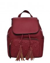 T2450(WN)-wholesale-backpack-solid-color-pocket-quilted-stitch-flap-tassel-drawstring-vegan-belt-adjustable(0).jpg
