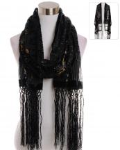TA001(BKPP)-wholesale-scarf-wrap-shawl-velvet-burn-out-floral-circle-fleur-de-lis-greek-sheer-tassel-fringe-long(0).jpg