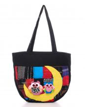 THBAG1(CRESM)-wholesale-fabric-woven-owl-crescent-moon-multi-color-patchwork-doll-bag(0).jpg