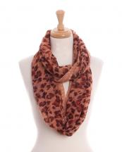 TINF1862(BR)-wholesale-infinity-scarf-polyester-leopard-polka-dot-trim-pleated-(0).jpg