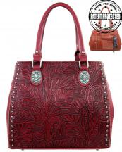TR22GL8563(RD)-MW-wholesale-montana-west-handbag-western-genuine-leather-floral-studs-studded-tooled-concealed-carry-(0).jpg