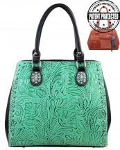 TR22GL8563(TQBK)-MW-wholesale-montana-west-handbag-western-genuine-leather-floral-studs-studded-tooled-concealed-carry-(0).jpg