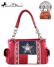 TX07G8085(RD)-MW-montana-west-western-handbag-concealed-handgun-texas-flag-star-crystal-studs-tooling-tribal(0).jpg