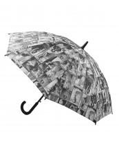UMB001(BKWT)-wholesale-umbrella-michelle-barack-obama-hook-handle-magazine-black-white-auto-open-canopy-black(0).jpg