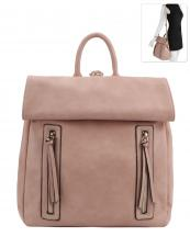 US0013(BS)-wholesale-backpack-convertible-transform-zipper-pocket-fold-flap-solid-vegan-leatherette-canvas(0).jpg