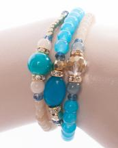 WB0664(GLBLU)-wholesale-gold-metal-wrap-around-bracelet-jewelry-stretch-rhinestone-resin-bead-multi-stone-round(0).jpg