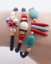 WB0668GL(BL)-wholesale-charm-bracelet-metal-jewelry-rhinestone-wrap-around-spike-stonr-beaded-beads-turquoise-(0).jpg