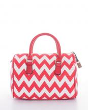 WR506025(RD)-wholesale-handbag-faux-leather-leatherette-chevron-zipper-padlock-shoulder-strap(0).jpg