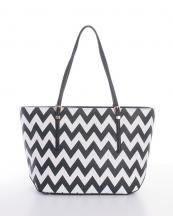 WR506459(BK)-wholesale-handbag-tote-bag-faux-leather-leatherette-chevron-zipper-buckle(0).jpg