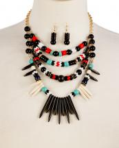 WS1728(BLK)-wholesale-necklace-earrings-turquoise-beads-spike-layer-rhinestone-metal-frame-resin(0).jpg