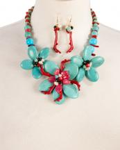 WS1743(TQS)-wholesale-necklace-earrings-coral-color-stone-shell-flower-floral-multi-beads-twig-(0).jpg