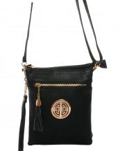 WU022L(BK)-wholesale-messenger-bag-gold-emblem-solid-color-leatherette-faux-leather-compartment-tassel-fringe-(0).jpg