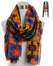 YC090(NV)-wholesale-scarf-wrap-shawl-aztec-pattern-multi-color-fringe-long-tribal-southwestern-polyester-(0).jpg