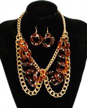 YNHJ6660(GDBRN)-wholesale-resin-chain-necklace-earrings-gold-(0).jpg
