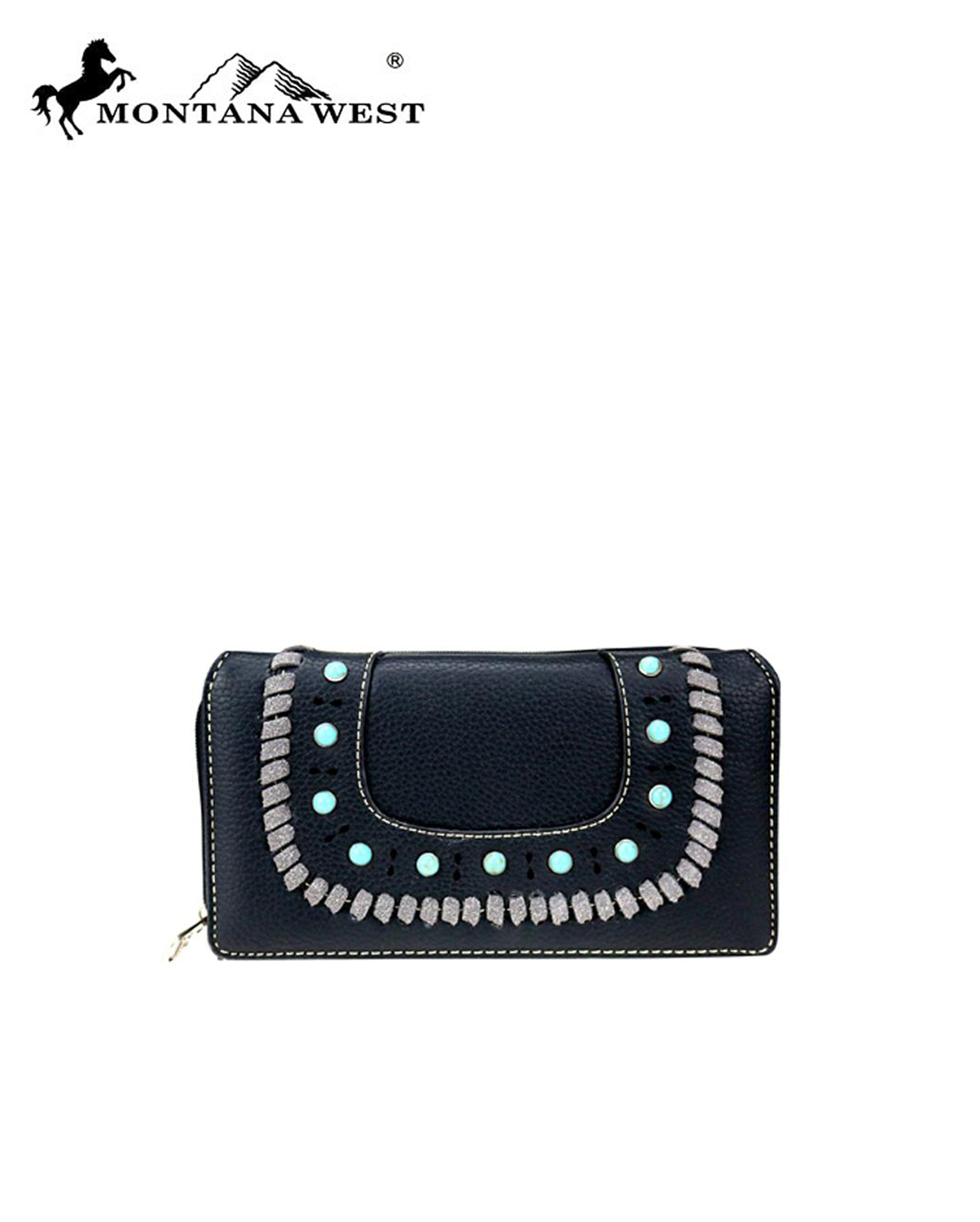 MW746W010(BK)-MW-wholesale-wallet-aztec-western-flap-turquoise-stone-whipstitch-cut-out-pattern-secretary-style-pu(0).jpg