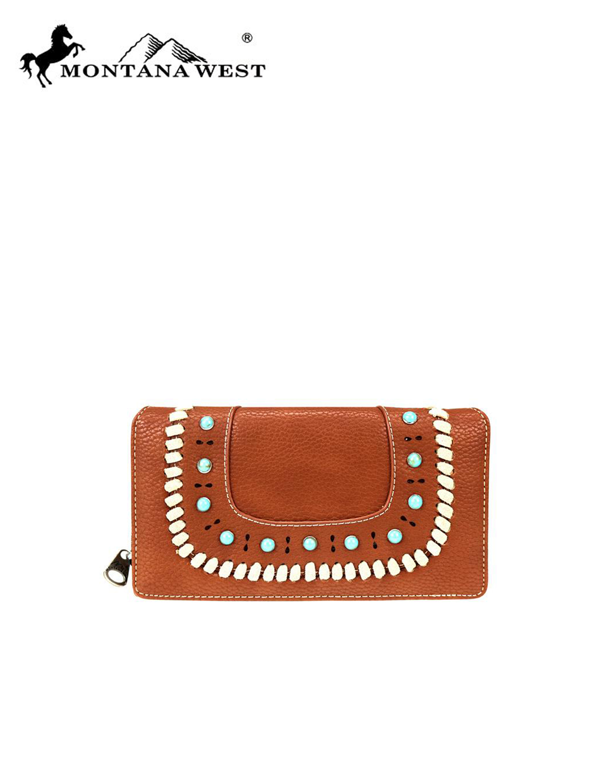 MW746W010(BR)-MW-wholesale-wallet-aztec-western-flap-turquoise-stone-whipstitch-cut-out-pattern-secretary-style-pu(0).jpg