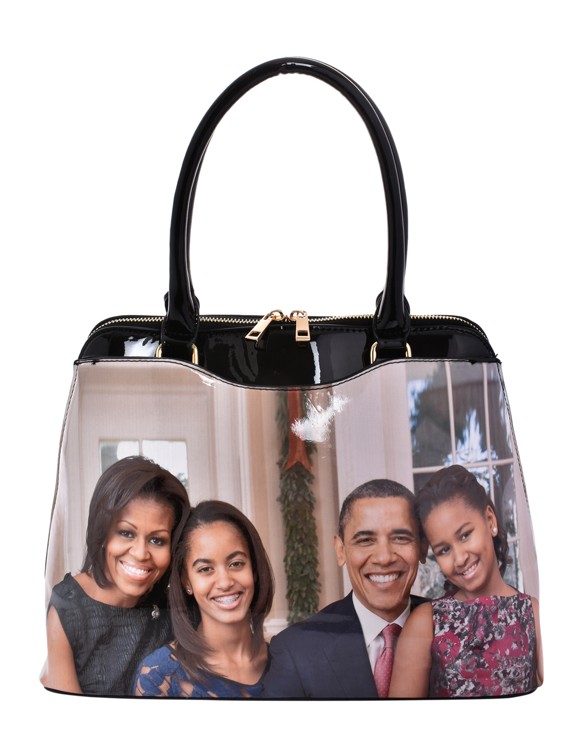 PA00484(MUL)-wholesale-handbag-tote-michelle-malia-sasha-barack-obama-faux-patent-multicolor-graphic-photo-family(0).jpg