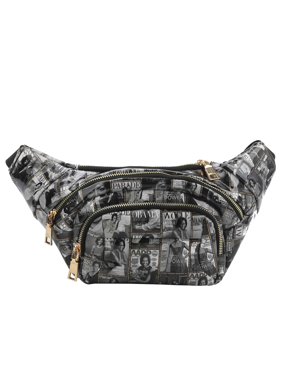 PQS005(BKWT)-wholesale-fanny-pack-waist-bag-michelle-barack-obama-magazine-patent-faux-leather-buckle-gold-pocket(0).jpg