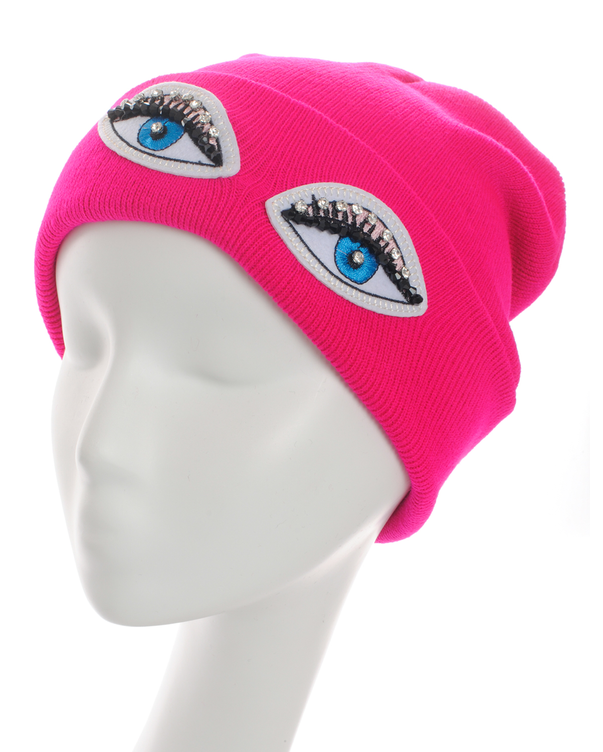 SS0644(FU)-wholesale-beanie-eyes-embroidered-rhinestones-black-beads-solid-color-knitted-stretch-fitted-acrylic(0).jpg