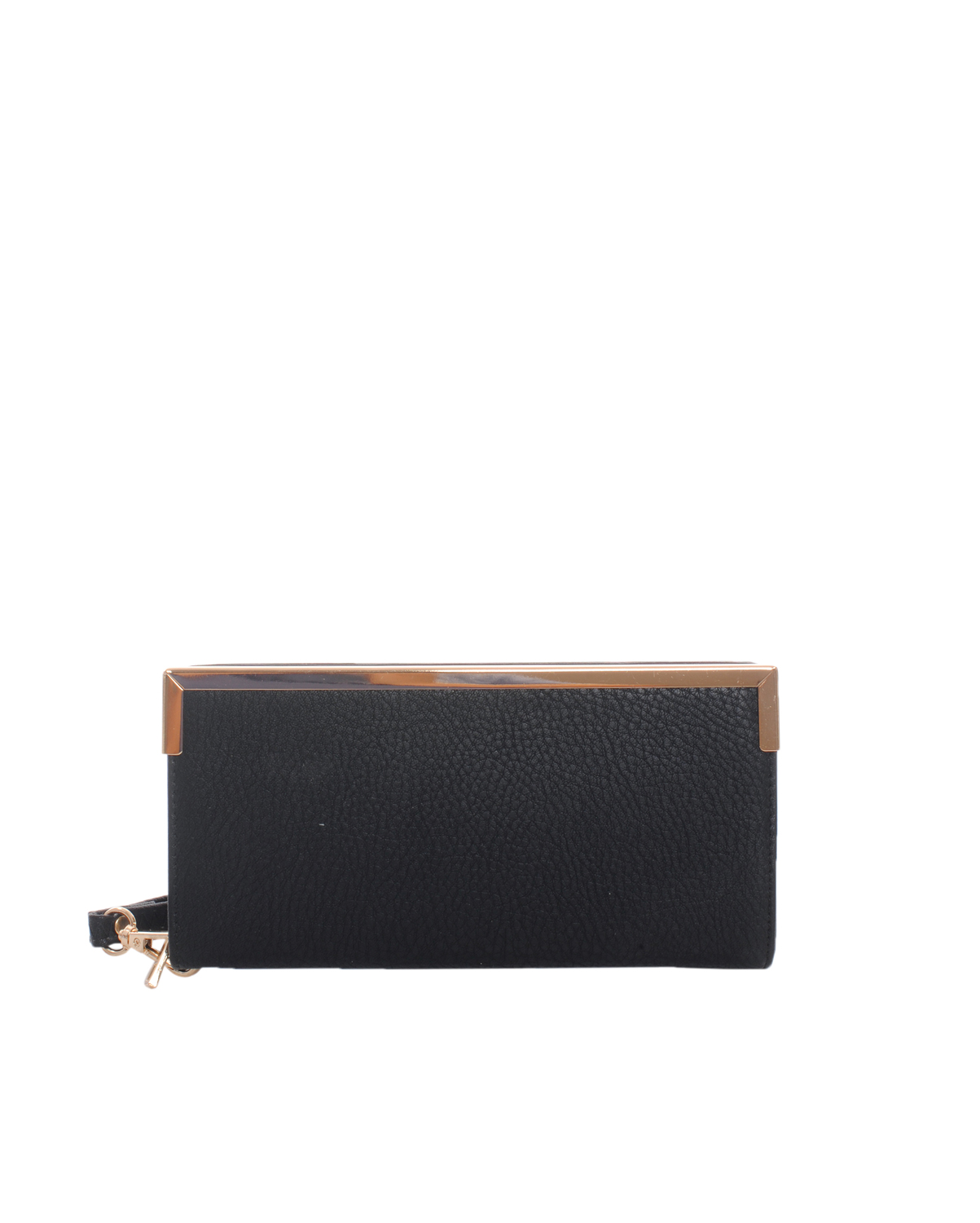 W2602B(BK)-wholesale-wallet-leatherette-solid-color-faux-leather-gold-tone-metal-wristlet-strap-compartment-(0).jpg